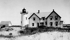 Race Point Lighthouse in Provincetown (1876)