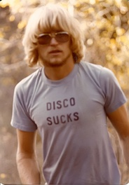Disco music backlash had started around 1977.