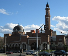 The first mosque in Roxbury was the Mosque for the Praising of Allah. Pictured here is the ISBCC Mosque.