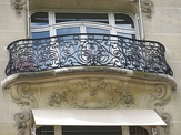 Various examples of wrought iron