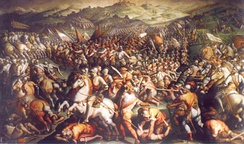 August 2: Battle of Marciano in Tuscany.