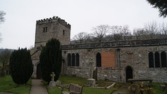 Priestley's ashes are scattered at St Michael and All Angels' Church in Hubberholme in the Yorkshire Dales National Park.
