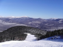 Ski slopes at Sunday River