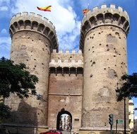 Towers of Quart, Christian city gate built between 1441 and 1460.