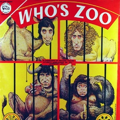 Who's Zoo, a The Who bootleg recording with cover artwork by William Stout.