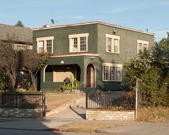 William Grant Still residence at 1262 South Victoria Avenue, 2012