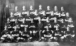 """The Invincibles"" All Blacks that toured to the British Isles and France in 1924–25"
