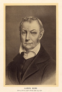 Portrait of Burr, undated (early 1800s)