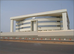 Seat of the Central Bank of Guinea-Bissau