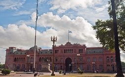 Casa Rosada, workplace of the President