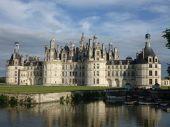 Château de Chambord (1519–1547), one of the most famous examples of Renaissance architecture