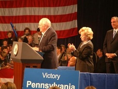 Cheney visited Washington & Jefferson College in Pennsylvania on October 27, 2004[54]