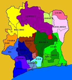 Ethnic groups of Ivory Coast