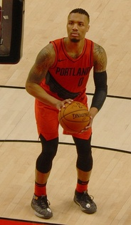 Damian Lillard is a three-time NBA All-Star (2014, 2015, 2018) and was the unanimous choice for the NBA Rookie of the Year following the 2012–13 season.