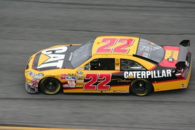 The No. 22 Caterpillar car in 2008