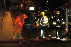 Decontamination after a chemical spill