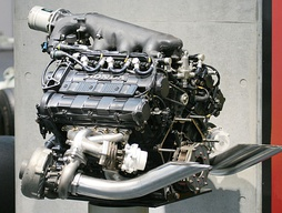 The Honda RA168E engine, which powered Senna to his first world championship