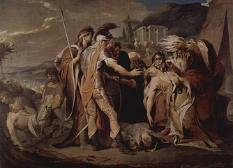 King Lear mourns Cordelia's death, James Barry, 1786–1788