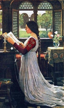 The Missal, 1902 by John William Waterhouse