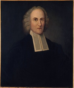 Portrait of Jonathan Edwards, revivalist and theologian