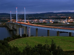 Evening at Kessock Bridge