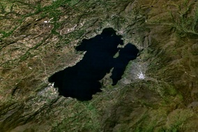 Miguel Triana studied the possibility of draining Colombia's largest lake, Lake Tota for irrigation around Sogamoso
