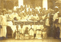 Funeral of Venerable Varghese Payyappilly Palakkappilly on 6 October 1929.