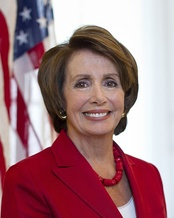 House Minority Leader Nancy Pelosi delivered a speech on the second night
