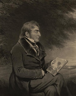 Charles Turner, c. 1840, Portrait of J. M. W. Turner, making his sketch for the celebrated picture of 'Mercury & Argus' (exhibited in 1836)