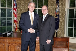Scalise with President George W. Bush in 2008