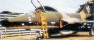 RF-101C, AF Ser No. 56–0176 of the 460th Tactical Recon Squadron – Tan Son Nhut Air Base – 1969