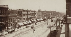 Part of Main Street, 1890