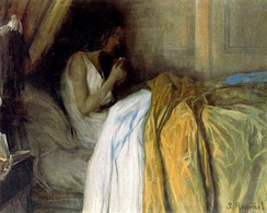 Before the Morphine by Santiago Rusiñol