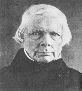 Daguerreotype of philosopher Friedrich Wilhelm Joseph Schelling made by Hermann Biow in February 1848.