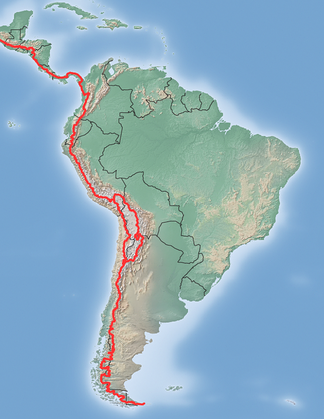 The Continental Divide in Central America and South America