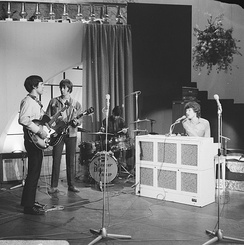 Winwood with Spencer Davis Group (Amsterdam, 1966)