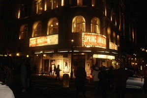 Spring Awakening at the Novello, March 2009.
