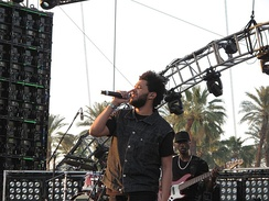Tesfaye performing at Coachella in 2012.
