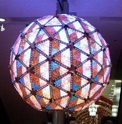 The Times Square Ball in 2007