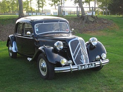 The Citroën Traction Avant was the preferred vehicle of the French mob, the Gang des Tractions Avant (1910s to 1950s).