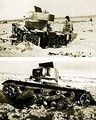 Soviet TT-26 teletank, the first military robot.