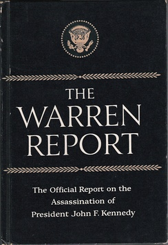 The Warren Report reproduced in book form by the Associated Press