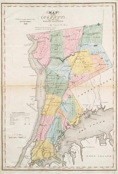 Westchester County in 1839, which included the future Bronx County.