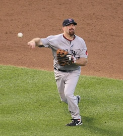 Gold Glove first baseman Kevin Youkilis