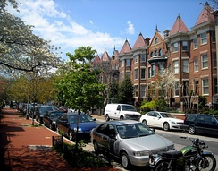 The 1700 block of T Street NW, in the Strivers' Section