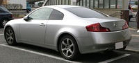 2003–2005 Nissan Skyline Coupe 350GT (CV35, Japan)