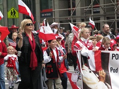 Polish-American parade in New York City, 2008