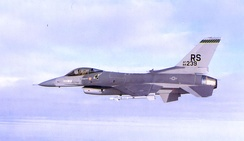 512th Tactical Fighter Squadron – F-16 84–239 1986