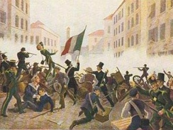 The Five Days of Milan, 1848.