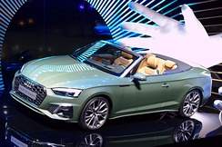 Audi A5 Cabriolet Facelift (Germany)